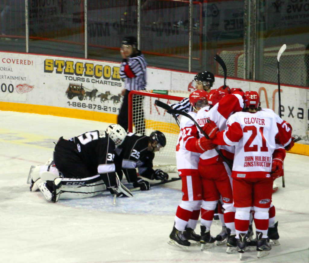 Fun in Weyburn: Weyburn Red Wings