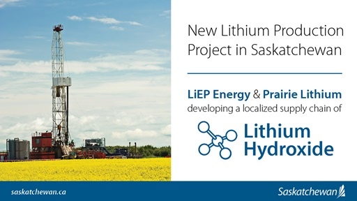 New Lithium Production Project In Saskatchewan